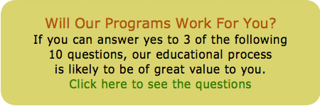 Will Our Programs Work For You?